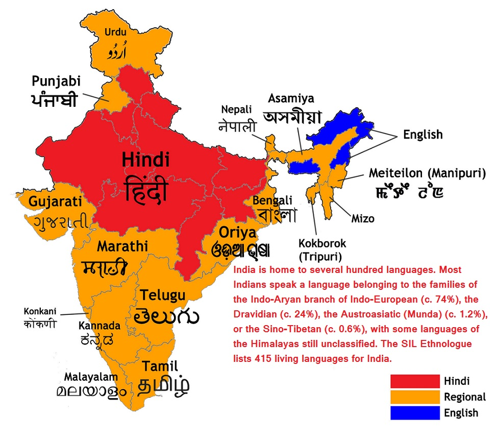 Top 15 Best Native Scheduled Languages In India By Ranked Learning