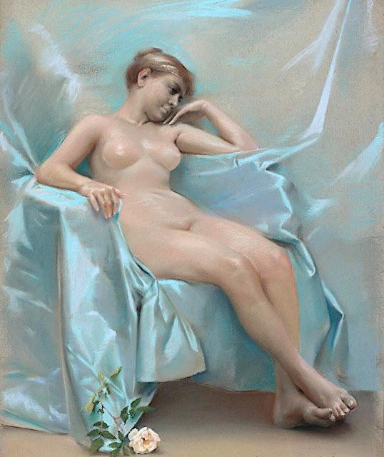 Gunnar Fredrik Berndtson: Modella nuda