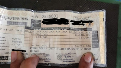 Pemutihan pajak untuk area Jawa Timur mulai senin 24 september