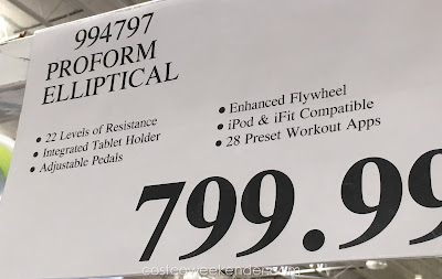 Deal for the ProForm Trainer 7.0 Elliptical at Costco