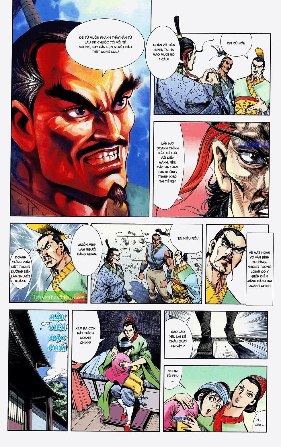 Tần Vương Doanh Chính chapter 22 trang 3