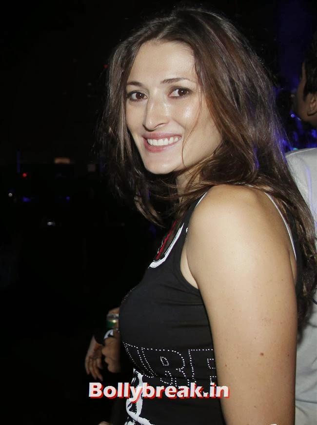 Dina Umarova, Page 3 Babes at Sunburn Arena DJ AVICII Concert