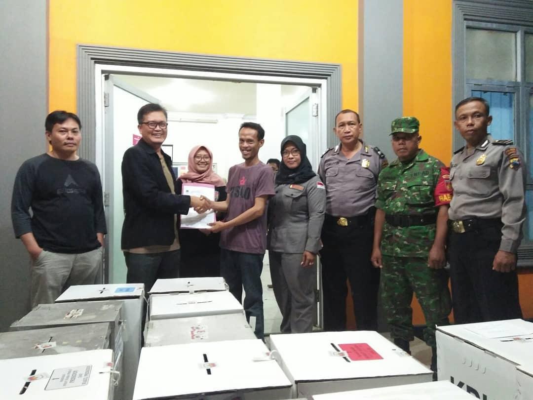 Lima Kecamatan di Kebumen Selesaikan Rekapitulasi Perolehan Suara