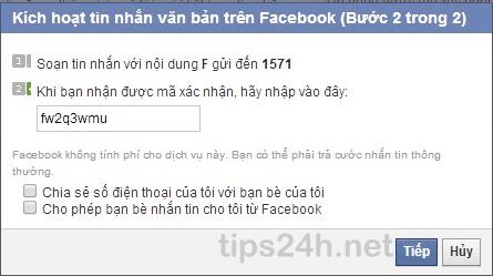 Hướng dẫn cách xác minh tài khoản Facebook bằng điện thoại