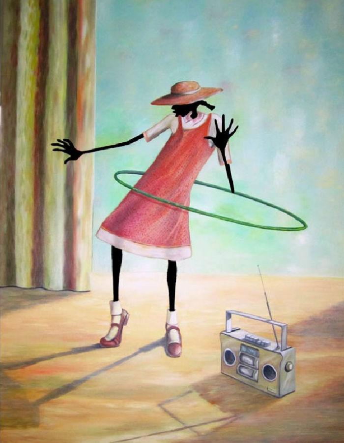 Современные художники Америки. Elginia McCrary 5