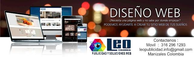 Desarrollo y diseño de paginas web en Manizales colombia