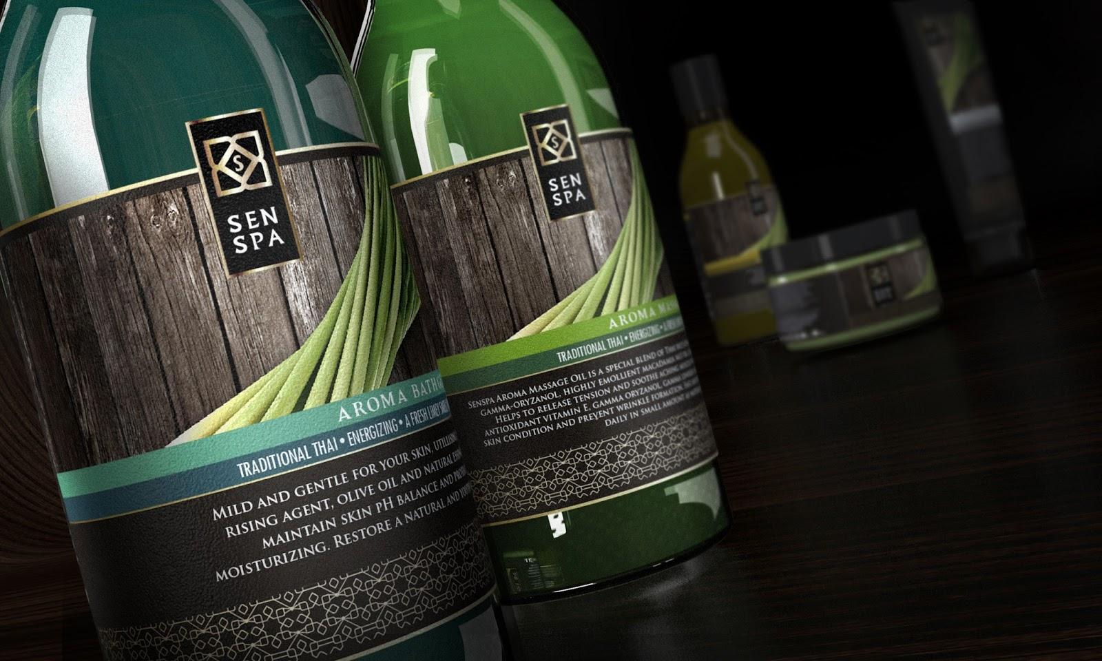 Senspa Lemongrass Aroma Set on Packaging of the World - Creative Package  Design Gallery