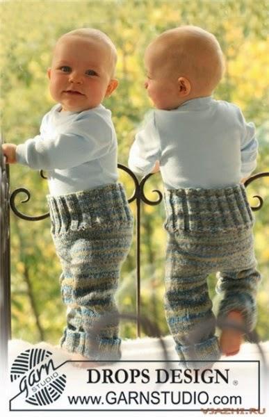 Штанишки для малыша DROPS