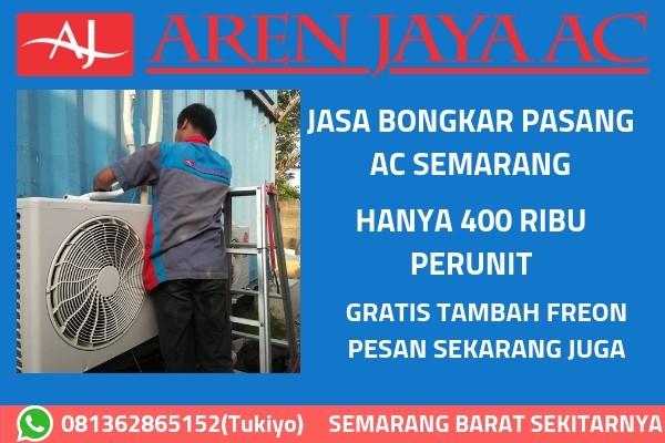 Jasa Bongkar Pasang AC di Semarang Barat