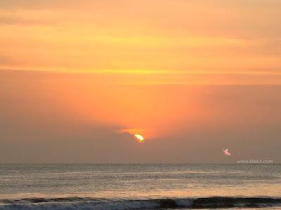 kuta-sunset