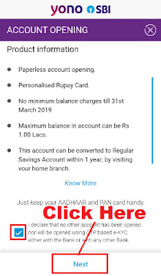 sbi insta account opening