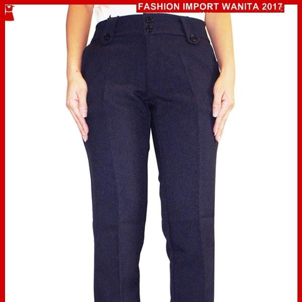 ADR145 Celana Basic Wanita Panjang Kerja Import BMGS