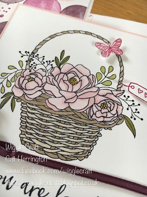 Stampin' Up! Blossoming Basket
