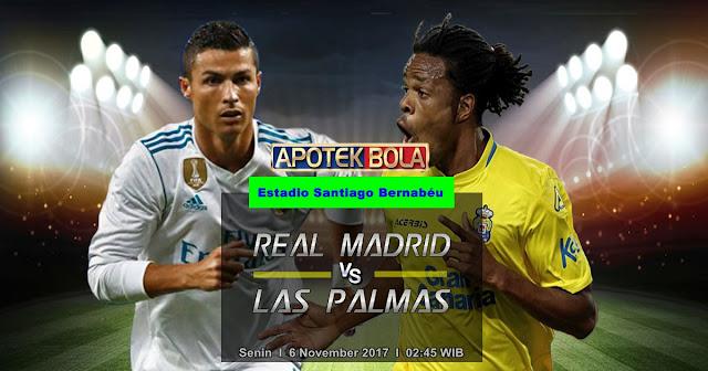 Real Madrid vs Las Palmas 6 November 2017
