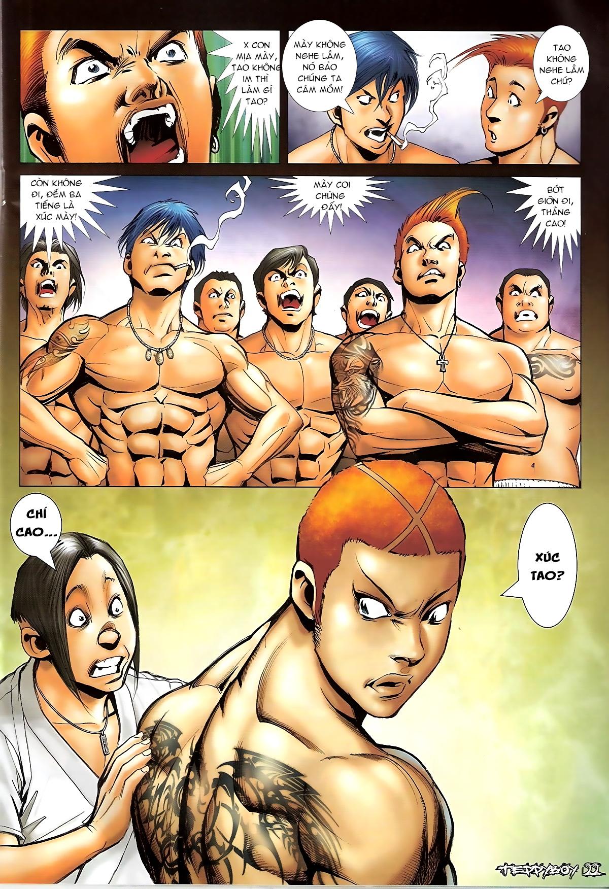 Người Trong Giang Hồ - Chapter 1322: Nói hung hăng - Pic 18