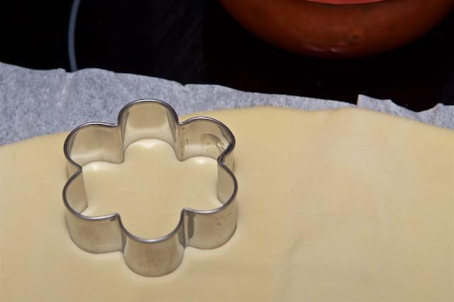 Tartelette feuilletée salées pour l'apéritif