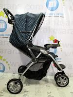 rebah babydoes ch290 jogger roda 3 kereta dorong bayi