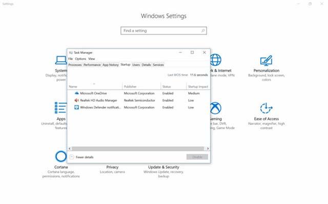 Task Manager Akan Lebih Baik Lagi Pada Windows 10 Redstone 5