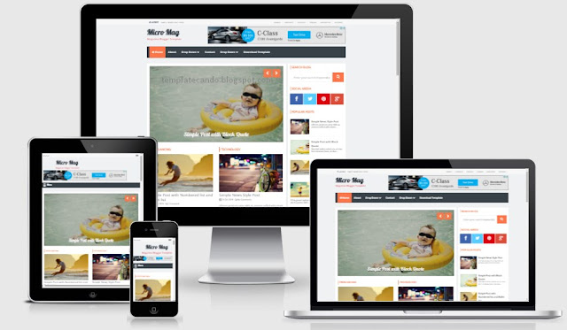 Micro mag blogger template latest version