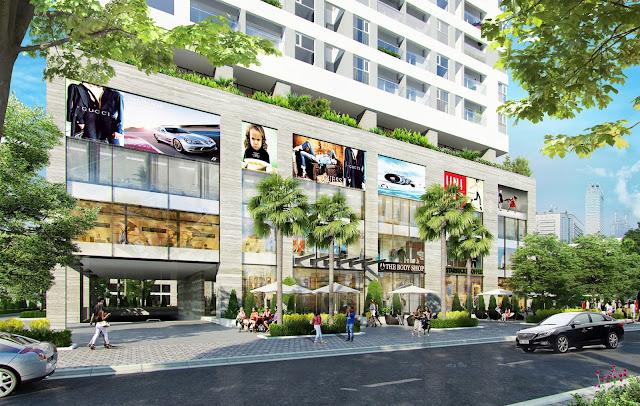 Trung tâm thương mại sang trọng tại An Bình City