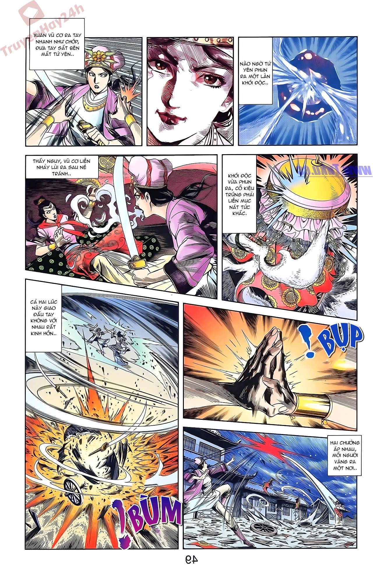 Tần Vương Doanh Chính chapter 51 trang 16