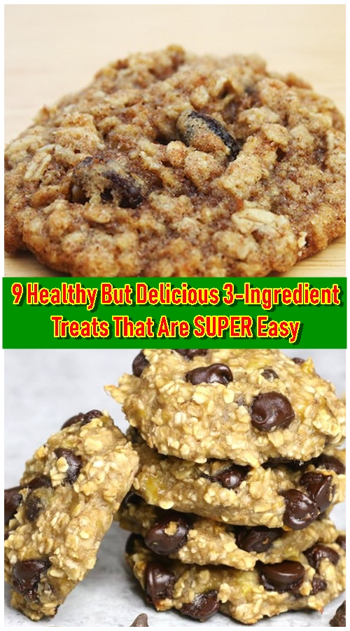 9 Healthy But Delicious 3-Ingredient Treats That Are SUPER Easy