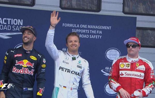 Clasificación Gran Premio China
