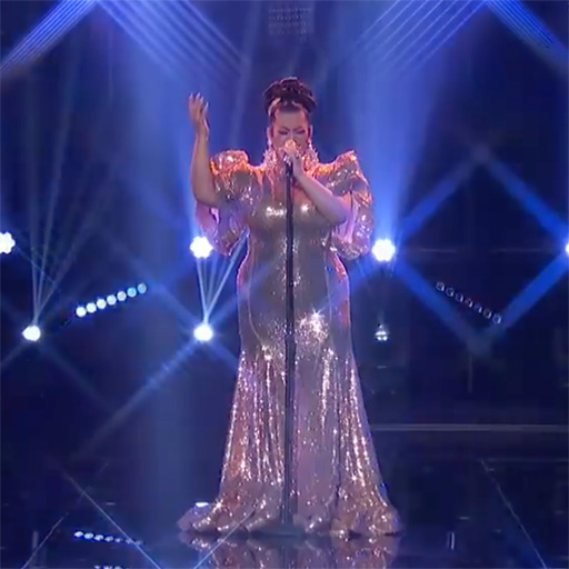 Drag queen Ada Vox, also known as Adam Sanders, advanced to the American Idol top 10 when the judges decided she deserved to move ahead in the singing competition.