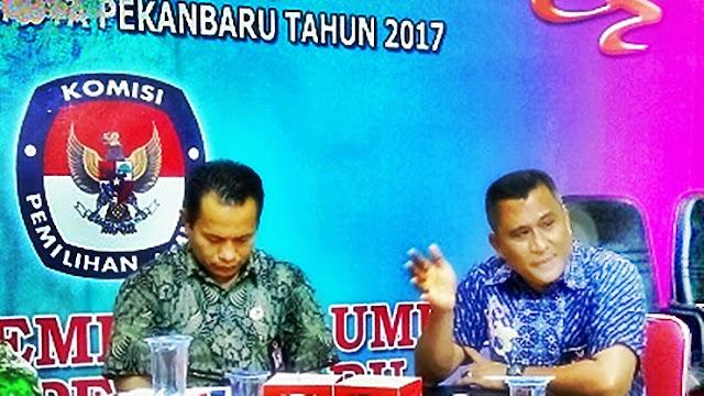 Tim Paslon Temukan Dugaan DPT Ganda di Pekanbaru