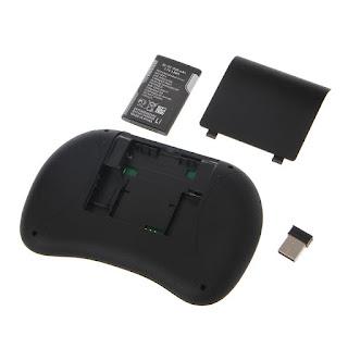 mini i8 tastiera andorid rgb colore wireless