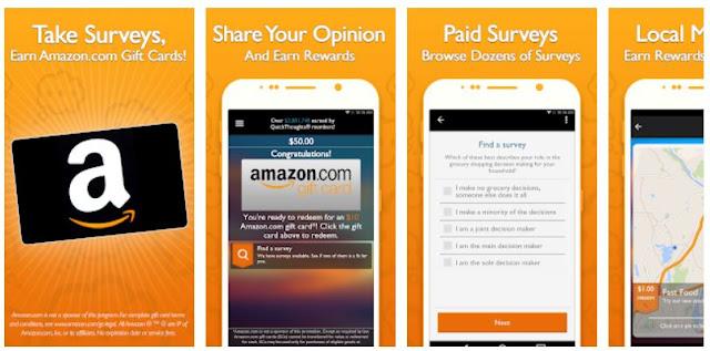 Download QuickThoughts: Take Surveys Earn Gift Card Rewards Mobile App