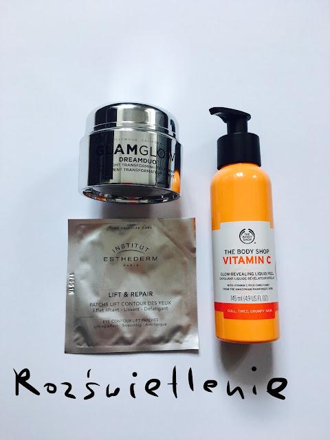rozświetlenie cery | glamglow | vitamina C | lift&repair