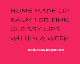 DIY LIP SCRUB AND LIP BALM FOR PLUMP PINK LIPS