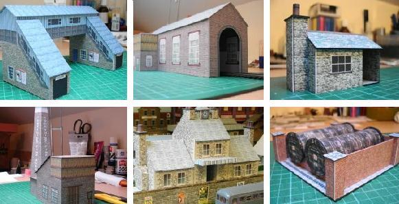 PAPERMAU: Paper Structures For Train Sets And Dioramas - by