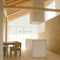 シンプルな輪郭が内包する納屋のような居心地の良い住まい