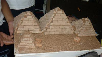 Trabajo escolar sobre la historia de la tecnología pirámides de Egipto