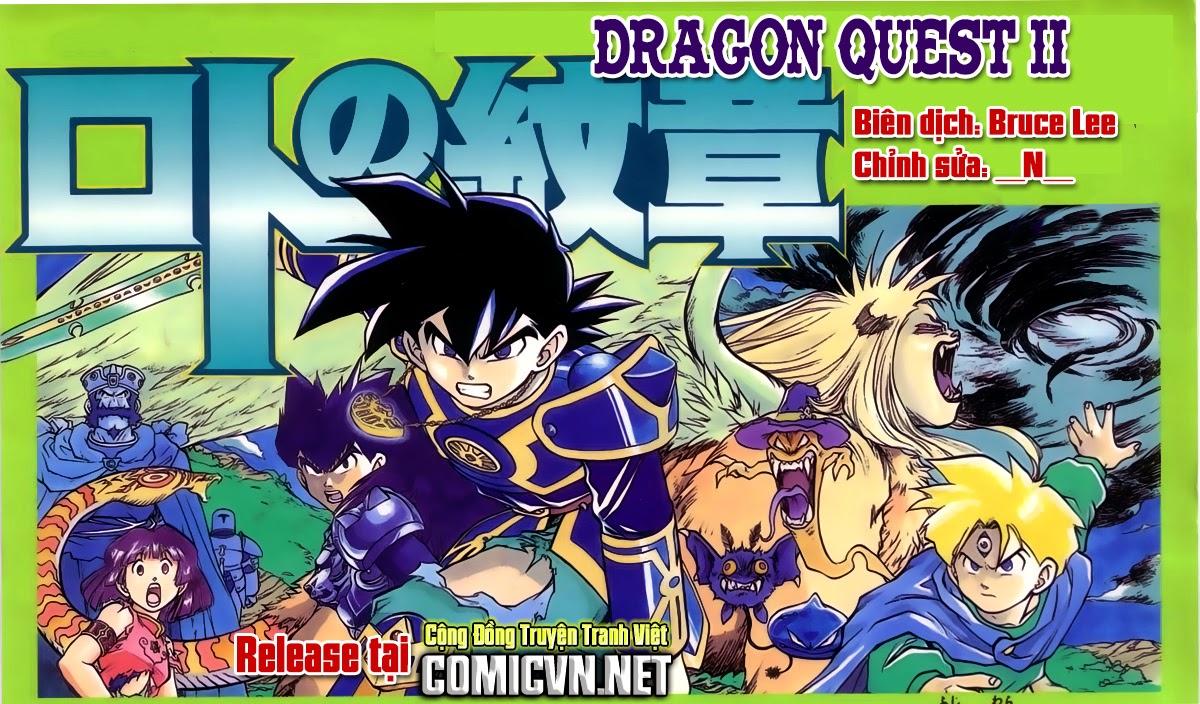 Dragon Quest: Emblem of Roto chap 38 trang 1