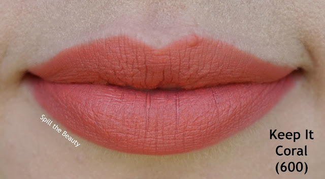 rimmel the only 1 matte lipstick review swatches 600 - keep it coral