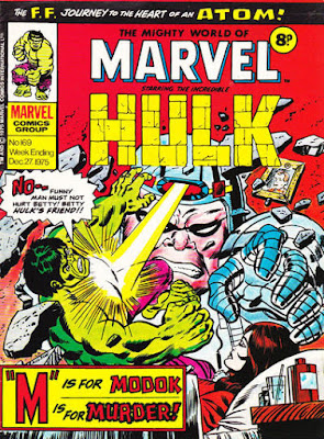 Mighty World of Marvel #169, Hulk vs Modok