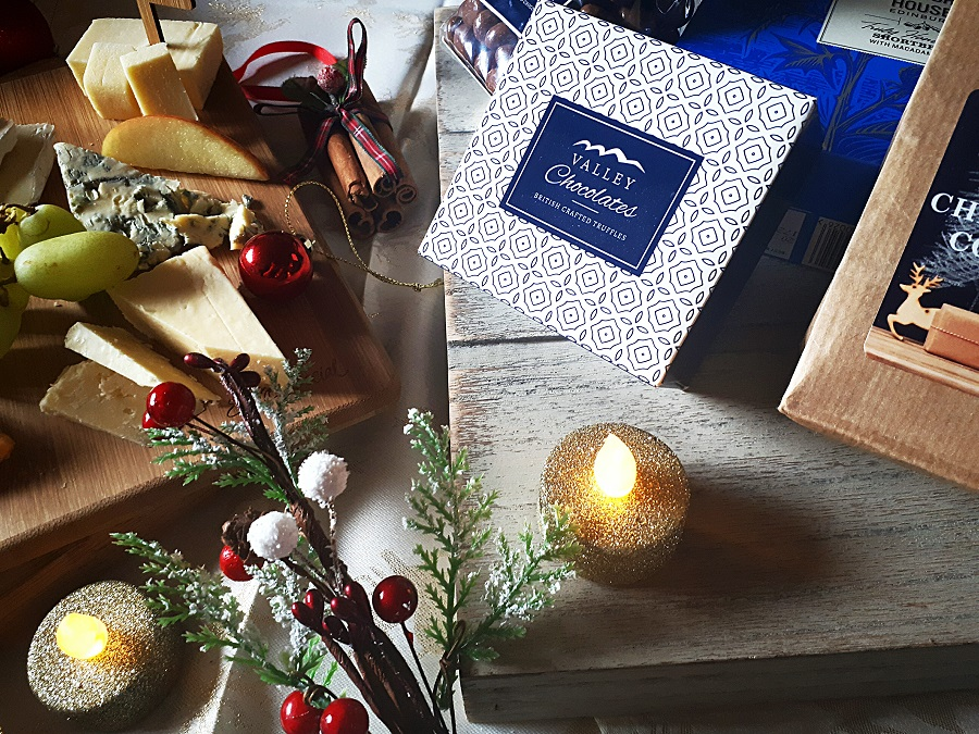 Christmas Truffles, Prestige Hampers, Cheeseboard, The Style Guide Blog