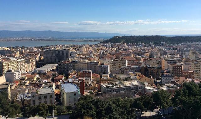 Imagem da cidade de Cagliari - Itália