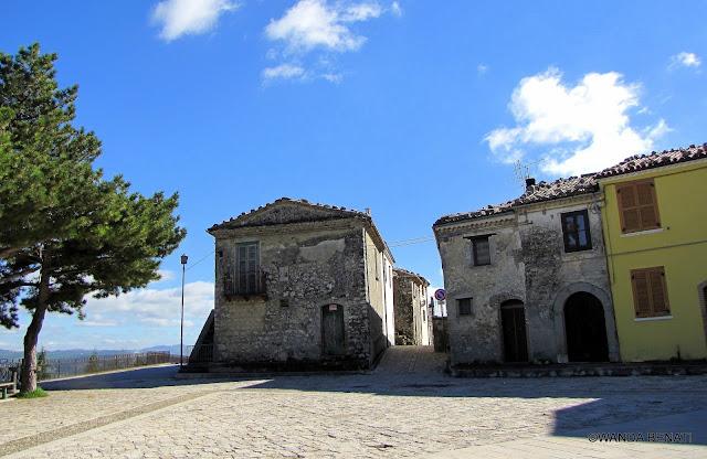 Molise, il borgo medievale di Civita Superiore di Bojano