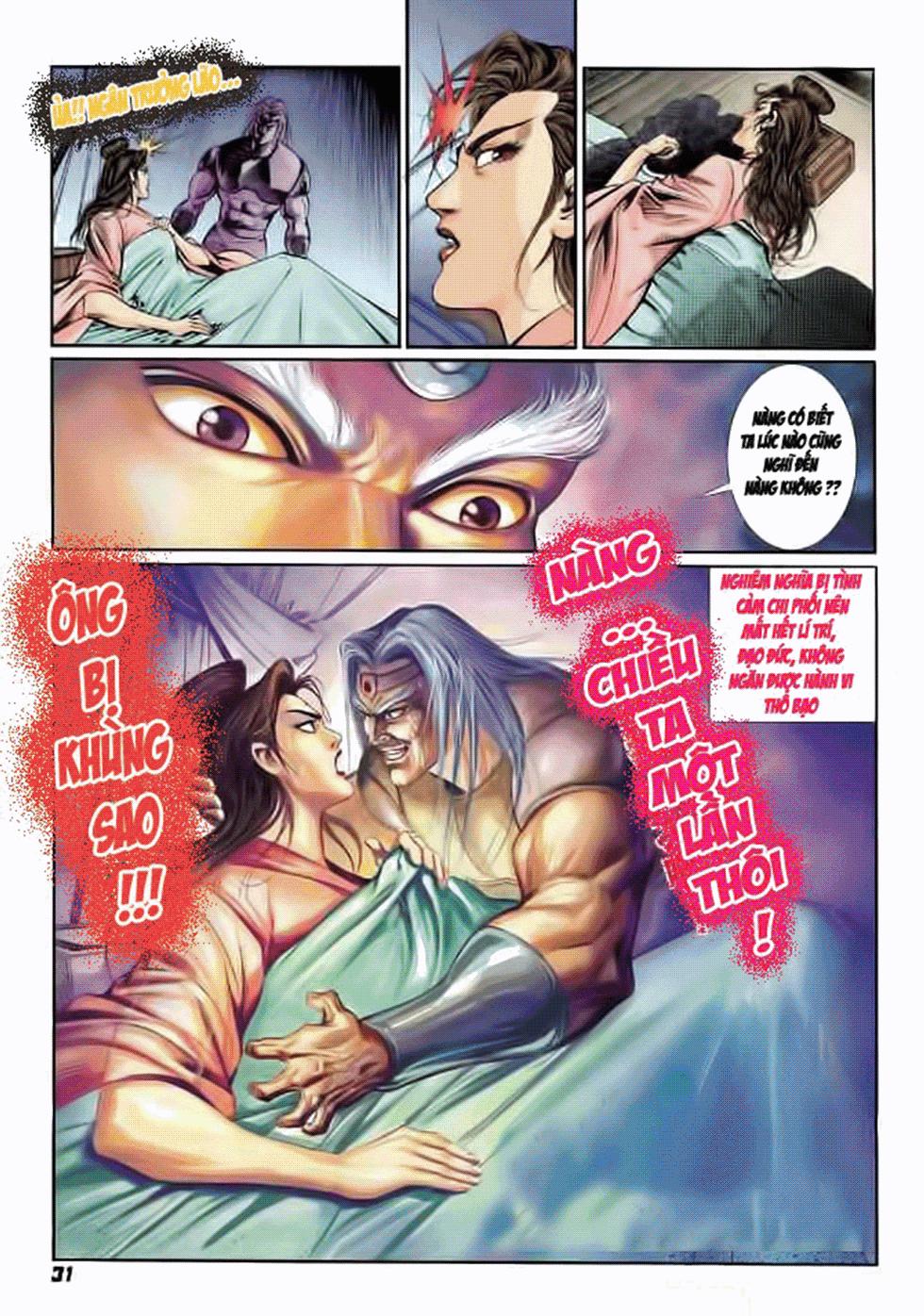 Tần Vương Doanh Chính chapter 7 trang 32