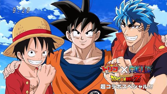 Toriko x One Piece x Dragon Ball Z Crossover (2/2) (116MB) (HDL) (Sub Español) (Mega)