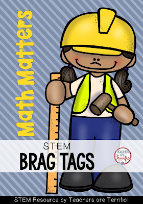 Brag Tags for the STEM classroom! Check this post for some ideas!