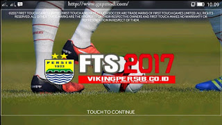FTS 2017 Mod PERSIB Special Viking Apk + Data Update Terbaru
