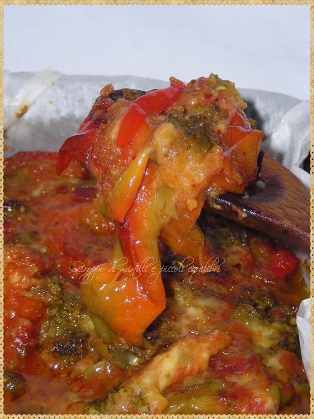 Peperoni (friggitelli) col   pangrattato