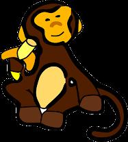 monyet serakah