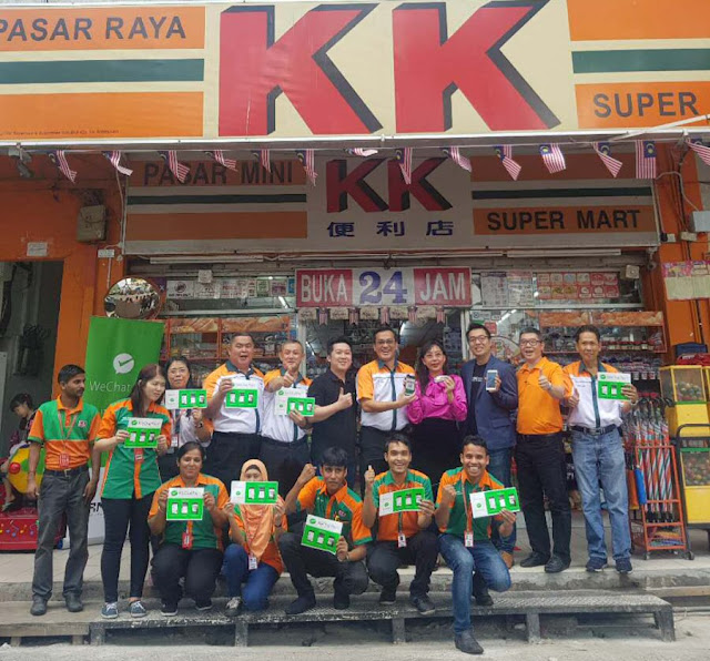 KK Super Mart goes cashless with WeChat Pay