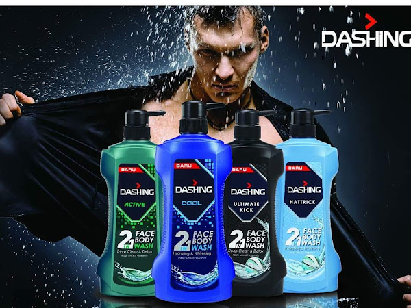 Dashing 2 in 1 Face and Body Wash : Memudahkan Sang Jejaka